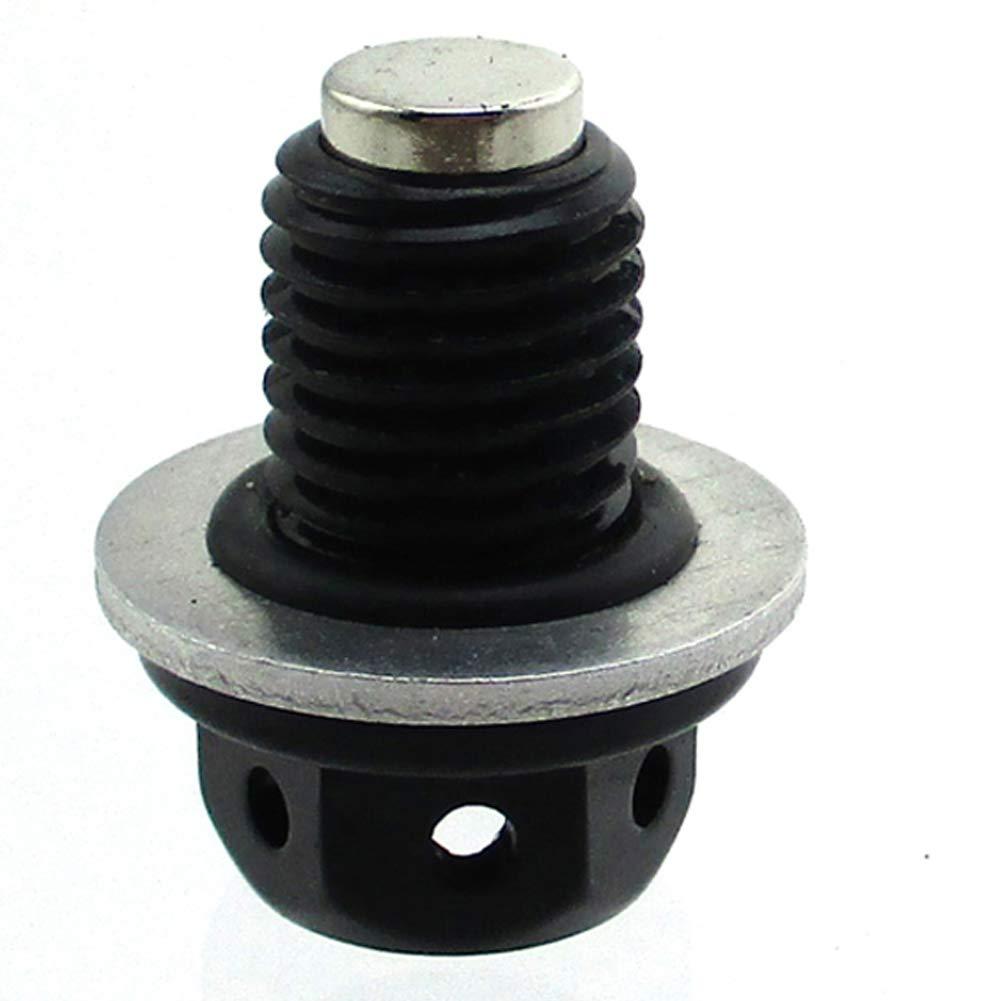 STONEDER magnetico bullone di scarico olio tappo a vite per 50/125/cc ATV Pit Bike Monkey CRF50/ATC70