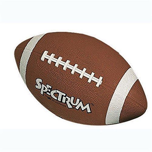 S&S Worldwide Spectrum Rubber Football-OFFICIAL (Spectrum Rubber Football)
