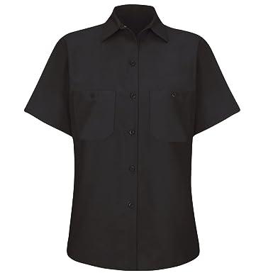 3cf4ce29422a8 Amazon.com  Red Kap Women s Industrial Work Shirt  Clothing