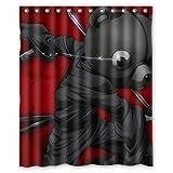 Jinnosuke - Afro Samurai Custom 100% Polyester Shower Curtain 60
