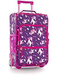 "kids Softside 18"" Upright Carry-On Wheeled Luggage (Unicorn)"
