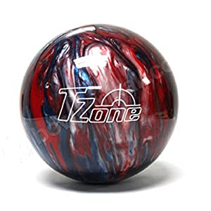Brunswick TZone Patriot Blaze Bowling Ball (8-Pounds)
