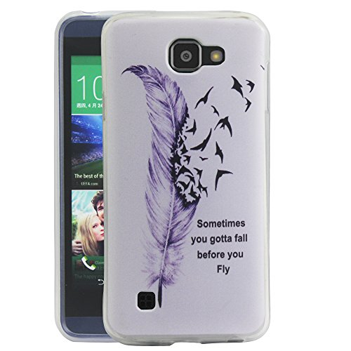 lg zone 3 phone cases. amazon.com: lg spree case, optimus zone 3 harryshell(tm) feather slim tpu gel flexible soft case cover skin protective for / lg phone cases o
