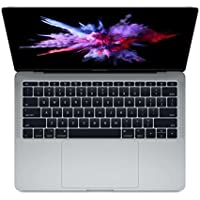 Apple MacBook Pro 13.3 Inch 512GB 2.5GHz i7 Space Gray (3 Year AppleCare+, 16GB RAM, Mid 2017) Factory Upgraded MPXT2LL/A - Z0UH0003Q