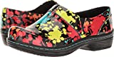 Klogs Footwear Women's Mission Arch Support, Splatter Patent, 7 M US