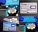 2nd Gen QuantaDose UVC Light Test Card with