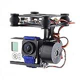 Womail DJI Phantom FPV Brushless Gimbal Camera Frame+2*Motors+Controller for Gopro 4 3+ 3