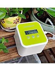 UCIN Upgraded Automatic Drip Irrigation Kit with Timer, Self Watering System with DIY 30-Day Programmable, Houseplants Greenhouse Watering Equipment for Potted Plants Powered by USB & Battery