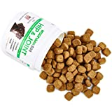 Hip and Joint Supplement for Dogs - Glucosamine Chondroitin for Dogs with Organic Turmeric and MSM - Supports Healthy Joint Function, Comfort, Mobility and Pain Relief | 120 Soft Chews | Made in USA