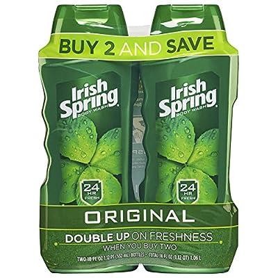 Irish Spring Body Wash, Original,18 Fl .oz (2 Count)