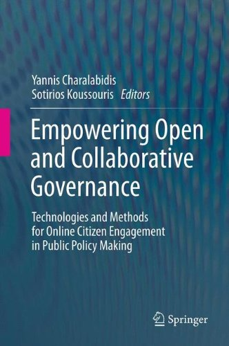 Empowering Open and Collaborative Governance: Technologies and Methods for Online Citizen Engagement in Public Policy Making