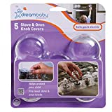 Dreambaby L730 Stove & Oven Knob Covers - 5pk