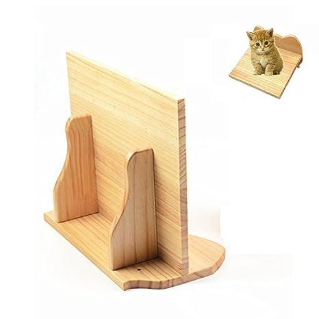 shanzhizui pequeña nube de gato de madera estante de pared gato árbol de perca de gato
