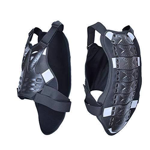 Men and Women Motorcycle armor Chest Back Body Armor Vest Motocross Gear Mesh Motorcycle Jacket Protection Waistcoa (M) - Mesh Cross Armor