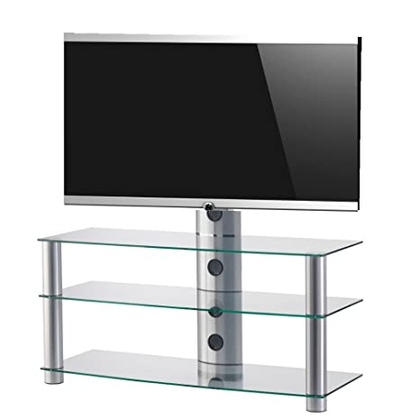 RO&CO - Mueble TV. Ancho 110 cms, 3 estantes y Soporte de TV ...
