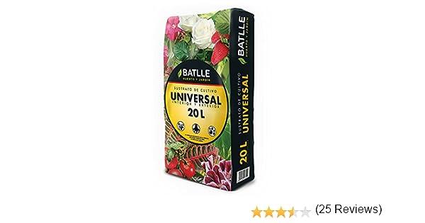 Sustratos - Sustrato Universal 20l. - Batlle: Amazon.es: Jardín