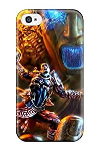 Awesome Case Cover/iphone 4/4s Defender Case Cover(video Game God Of War)