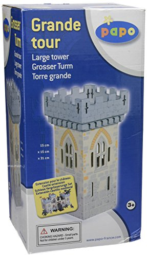 Papo Set 1 Weapon Master Castle (1 Large Tower)