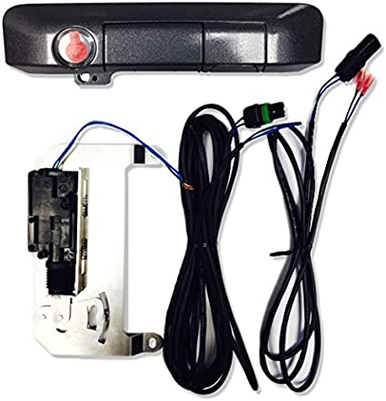 Pop /& Lock PL85403 Super White Power Tailgate Lock with BOLT Codeable Technology for Toyota Tacoma Smart Lock Combo