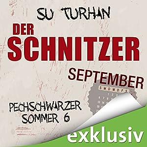Der Schnitzer. September (Pechschwarzer Sommer 6) Hörbuch
