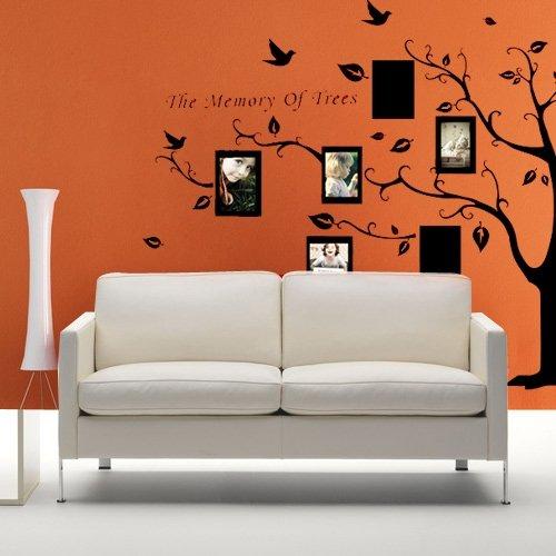 vinilo decorativo pegatina decorativa adhesivo con tema planta pared pintura poner fotos en pared amazones juguetes y juegos