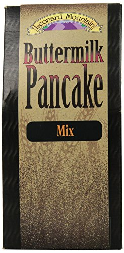 Leonard Mountain Buttermilk Pancake Mix, 13-Ounce Boxes (Pack of 4)