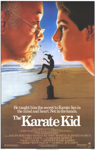 The Karate Kid Poster Movie 11x17 Ralph Macchio Noriyuki Pat Morita Elisabeth Shue Randee Heller MasterPoster Print, 11x17 - Kid Movie Poster