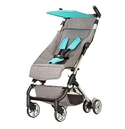 carrito de bebé- Ligero plegable Puede sentarse y acostarse ...
