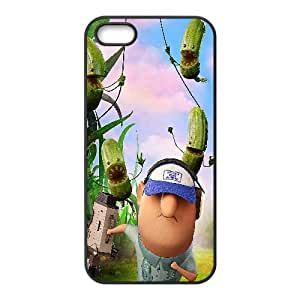 Cloudy With A Chance Of Meatballs 2 Cartoon iPhone 4 4s Cell Phone Case Black WON6189218029950