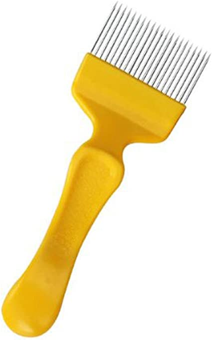 Stainless Steel Honey Comb Beekeeping Tine Uncapping Fork Hive Tool New