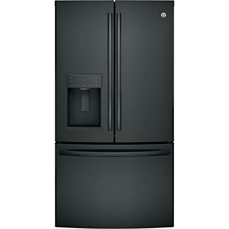 GE GFE28GGKBB 27.8 Cu. Ft. Black French Door Refrigerator   Energy Star