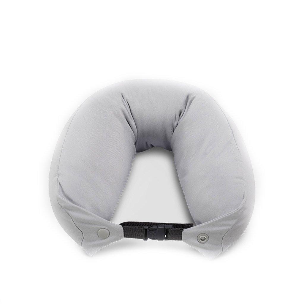 ZHOU LI Weiche Reisekissen Unterstützung für Hals, Kopf, Memory Foam, leicht, Kissen, grau (Farbe : Grau)