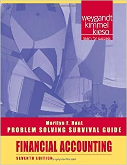 Book Problem Solving Survival Guide t/a Financial Accounting by Jerry J. Weygandt (2010-08-10)