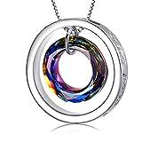 OneSight Wish Pendant Necklace Jewelry Made With Crystal Vitrail Medium Swarovski Crystals