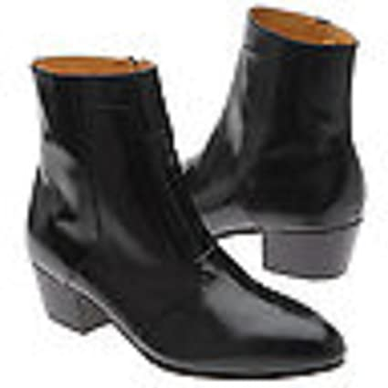 e5c1383a796 Amazon.com: GIORGIO BRUTINI KID SKIN LEATHER BOOT BLACK SIZE 13 D ...