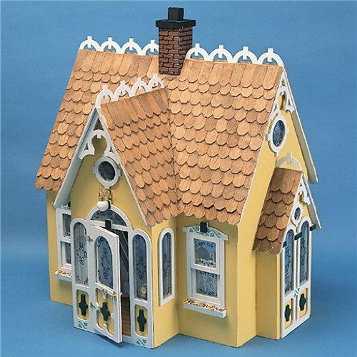 Corona Dollhouse Kit (Dollhouse Miniature The Buttercup Cottage Dollhouse by Corona)