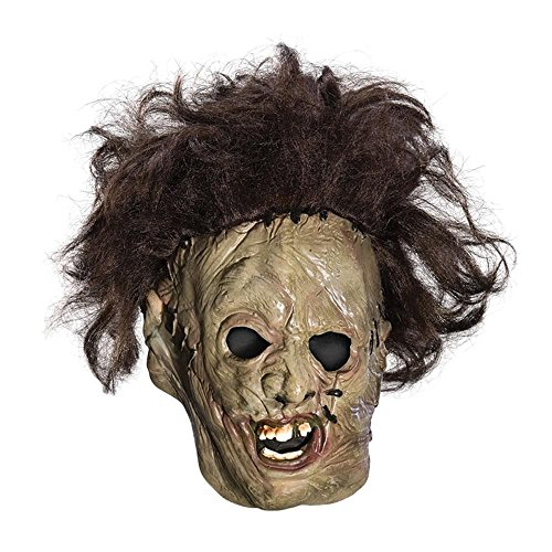 [Texas Chainsaw Massacre Child's Leatherface Vinyl Mask] (Leatherface Costume For Women)