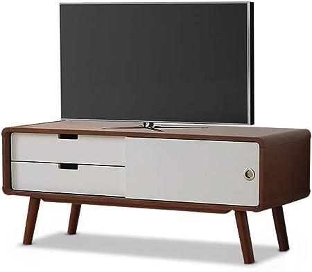 Wood & Style Muebles Armani de Mediados de Siglo Moderno Acabado en Dos Tonos 2 cajones