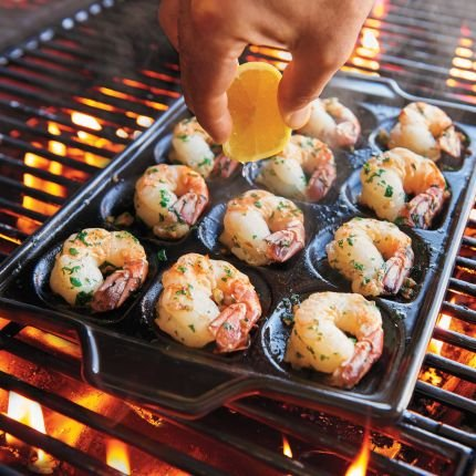 Ceramic Shrimp and Scallop Pan CC7688