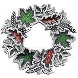 Danforth - Autumn Wreath Brooch Pin