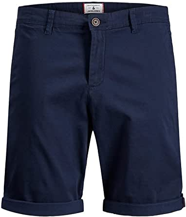 Jack & Jones Jjibowie Jjshorts Solid Sa STS Pantalones Cortos para Hombre