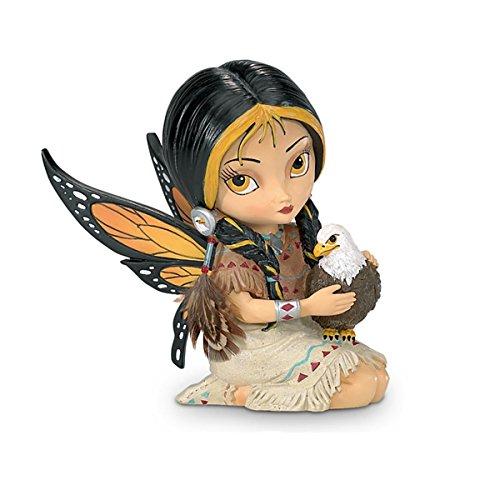 Jasmine Becket-Griffith Dreamsky, the Spirit of Vision Eagle And Fairy Fantasy Art Figurine by The Hamilton Collection (Jasmine Fairies Griffith Becket)