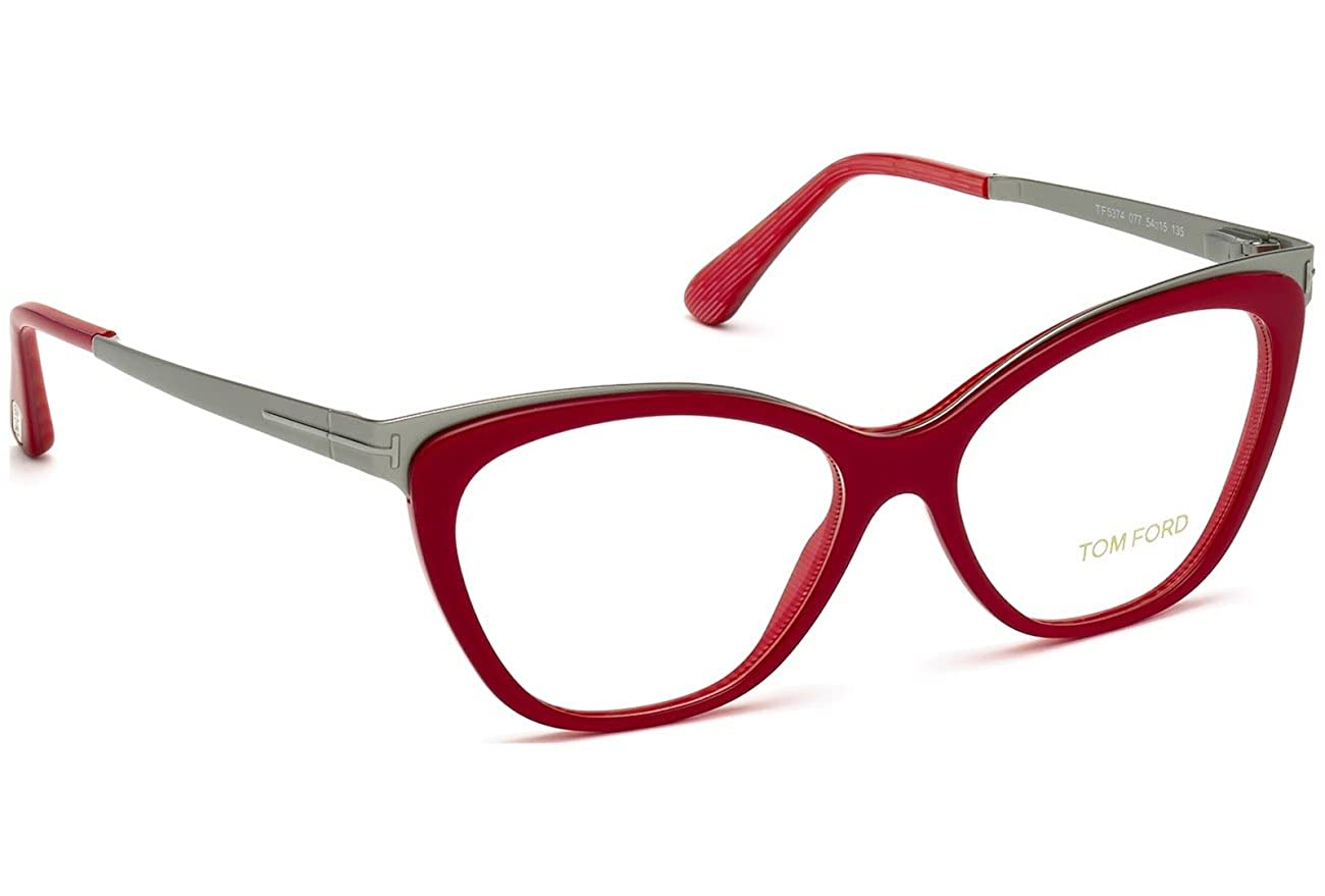 75e1cfa08b Amazon.com  Tom Ford FT5374 077 Occhiali da vista Eyeglasses 2016 Brille  woman  Clothing