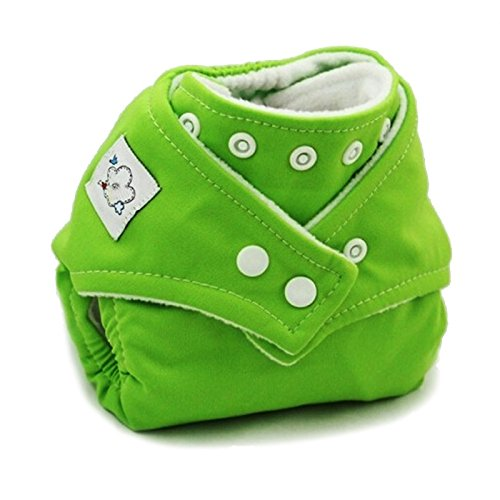 Girls Generation Genie Costume (1PCS Reusable Baby Infant Nappy Cloth Diapers Soft Covers Baby Nappy Size Adjustable Training Pants Size Adjustable (Green Color))