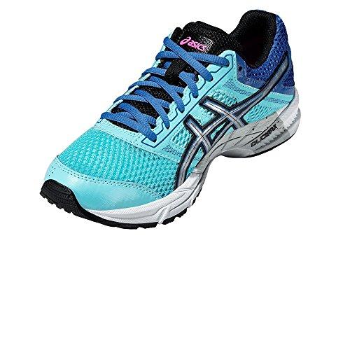Gel-Trounce 3 Ladies Running Shoes - Turquoise himmelblau / blau