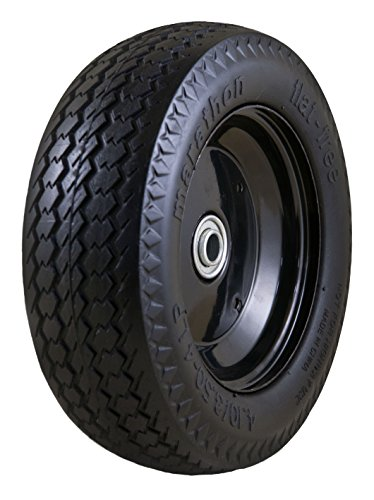 Cheap  Marathon Universal Fit, Flat Free, Hand Truck / All Purpose Utility Tire..