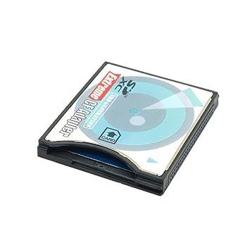Extreme Compact Flash tipo II adaptador de tarjeta de memoria (Compatible con SDHC MMC SDHC SDXC) para Canon EOS 40d, 50d, 5d, 5D2, 7d, 350d, 400d; ...
