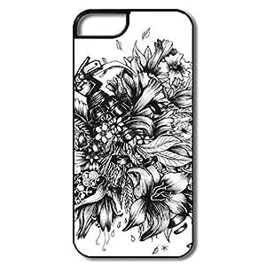 Brand New Flower Grenade Plastic Case For IPhone 5/5s