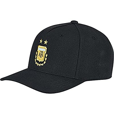 adidas Argentina Away Flat Cap 2018/2019 - Black by Adidas