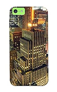 62b1417644 Special Design Back Cityscapes Night Buildings City Lights Cities Phone Case Cover For Iphone 5c